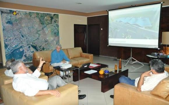 Arquiteto apresenta projeto para modernização e ampliação do aeroporto