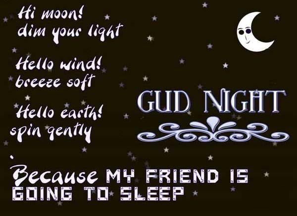 Gambar Ucapan Selamat Malam Bahasa Inggris - Kata Mutiara