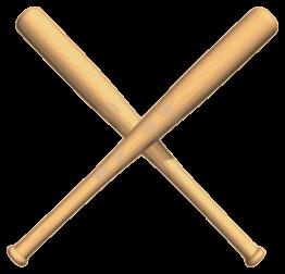 Resultado de imagen de bate de beisbol animado png