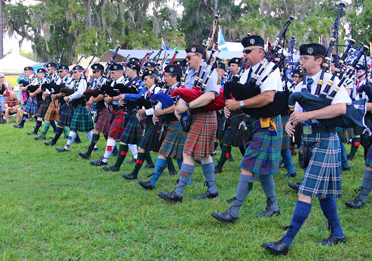 Major national announcement at 43rd Annual Scottish Games  - The Citadel - Charleston, SC