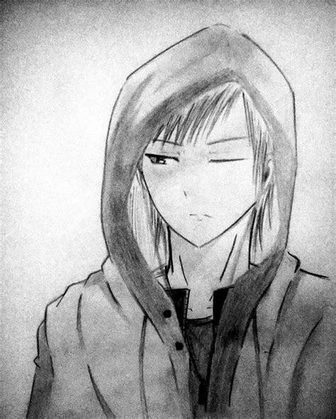hoodie anime boy  kristianodinandio  deviantart