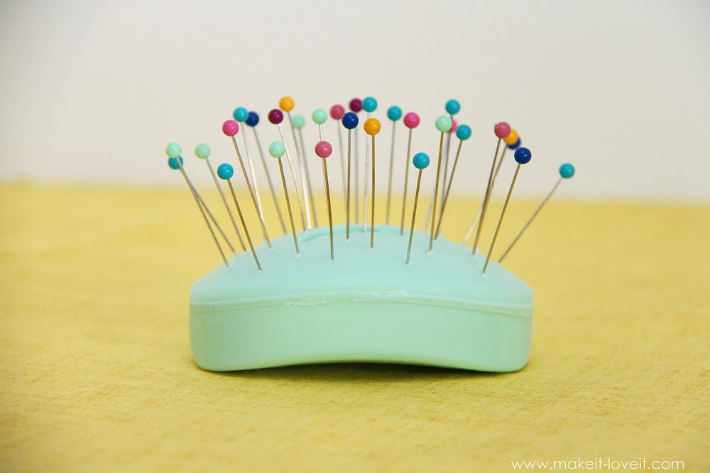 sewing tip stubborn straight pins 2