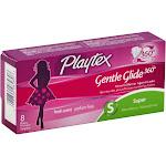Plytx Gntl Super Size 8ct Playtex Gentle Glide Deodorant Super Tampons -PACK 12