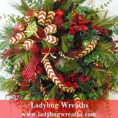 Christmas Wreaths For Sale on Pinterest