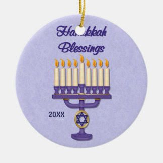 Hanukkah Ornaments & Keepsake Ornaments | Zazzle