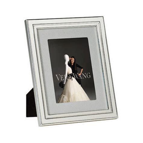Vera Wang Wedgwood Chime Silver Giftware Frame 4x6
