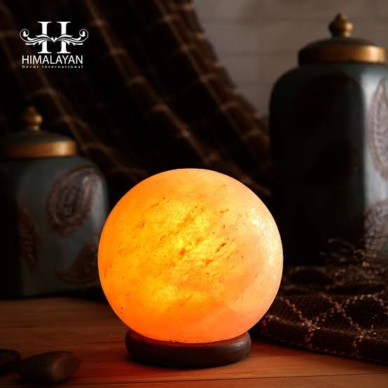 Himalayan Glow Natural Himalayan Salt Rounded Lamp