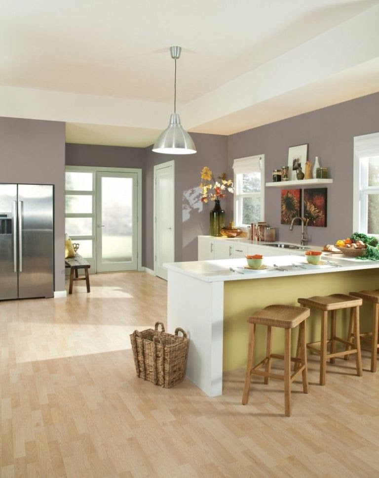 Sherwin-Williams kitchen