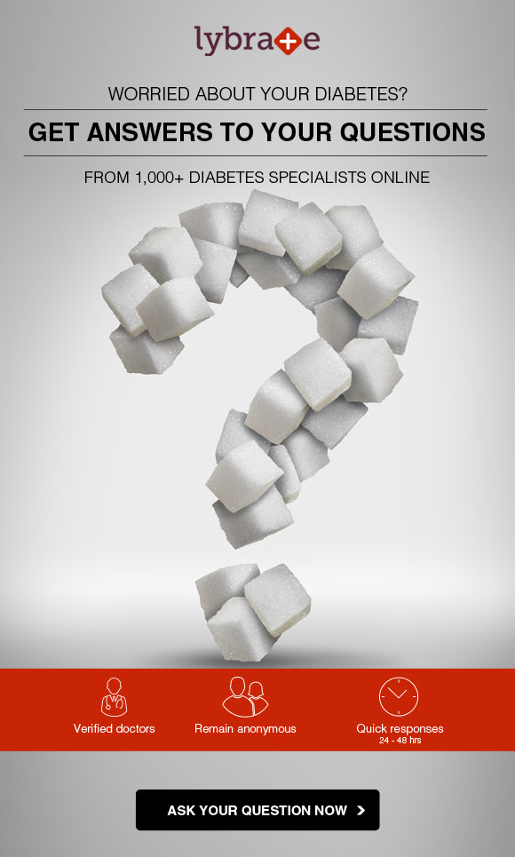 Worried about Diabetes? Get answers to your questions from 1000+ top Diabetes Specialists online.