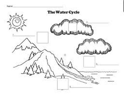 Wiring And Diagram: Diagram Of The Water Cycle Worksheet