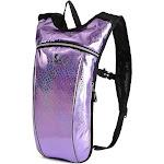 Alta Lightweight 2 Liter Water Bladder Active Running and Hiking Backpack, Purple