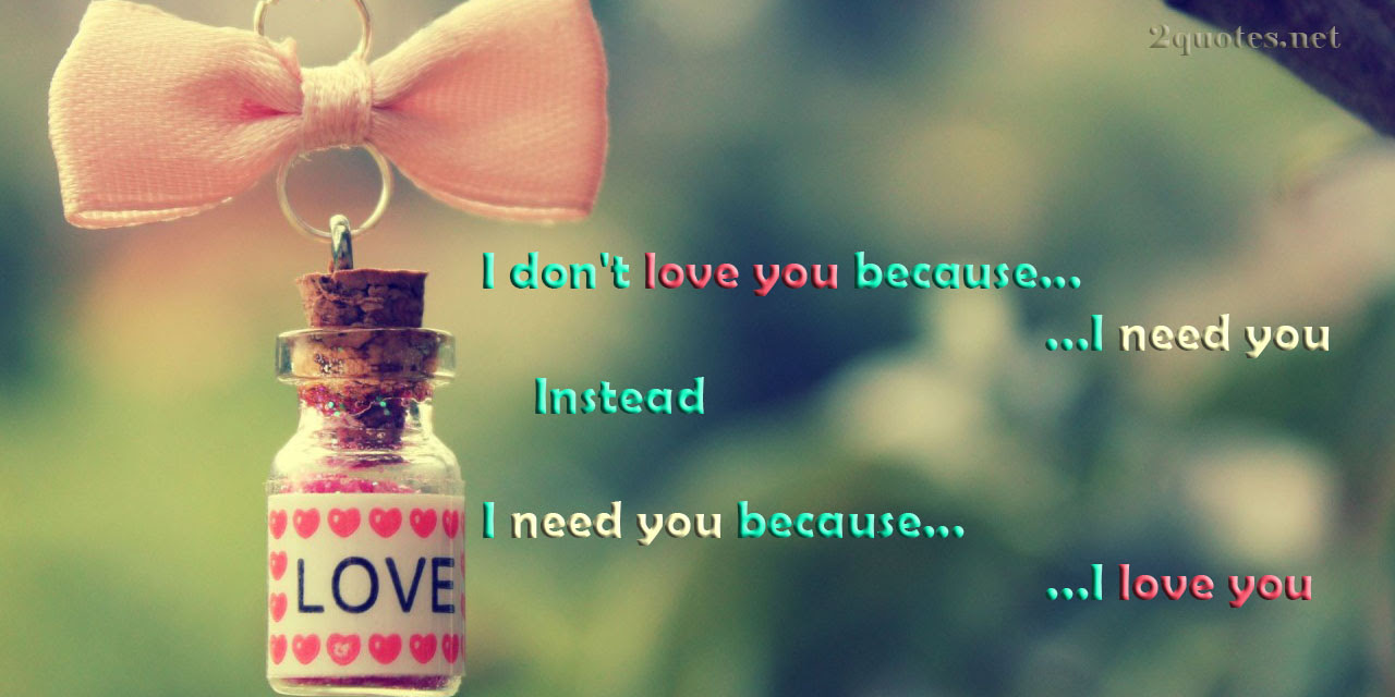 i love you and need you quotes and sayings134