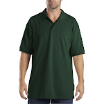 Dickies Adult Short-Sleeve Performance Polo-HUNTER GREEN-L
