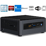 Intel NUC NUC8I3CYSM Desktop (Intel i3-8121U, 8GB RAM, 1TB HDD, AMD Radeon 540, Wifi, Bluetooth, 2xHDMI, Win 10 Home)