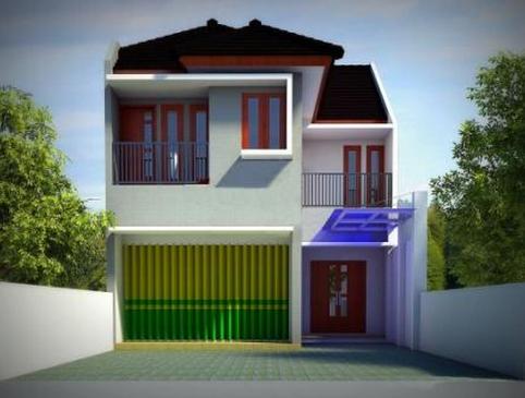 Desain Rumah Minimalis Ruko