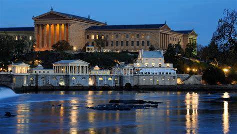 Philadelphia Art Museum And Fairmount Water Works Royalty