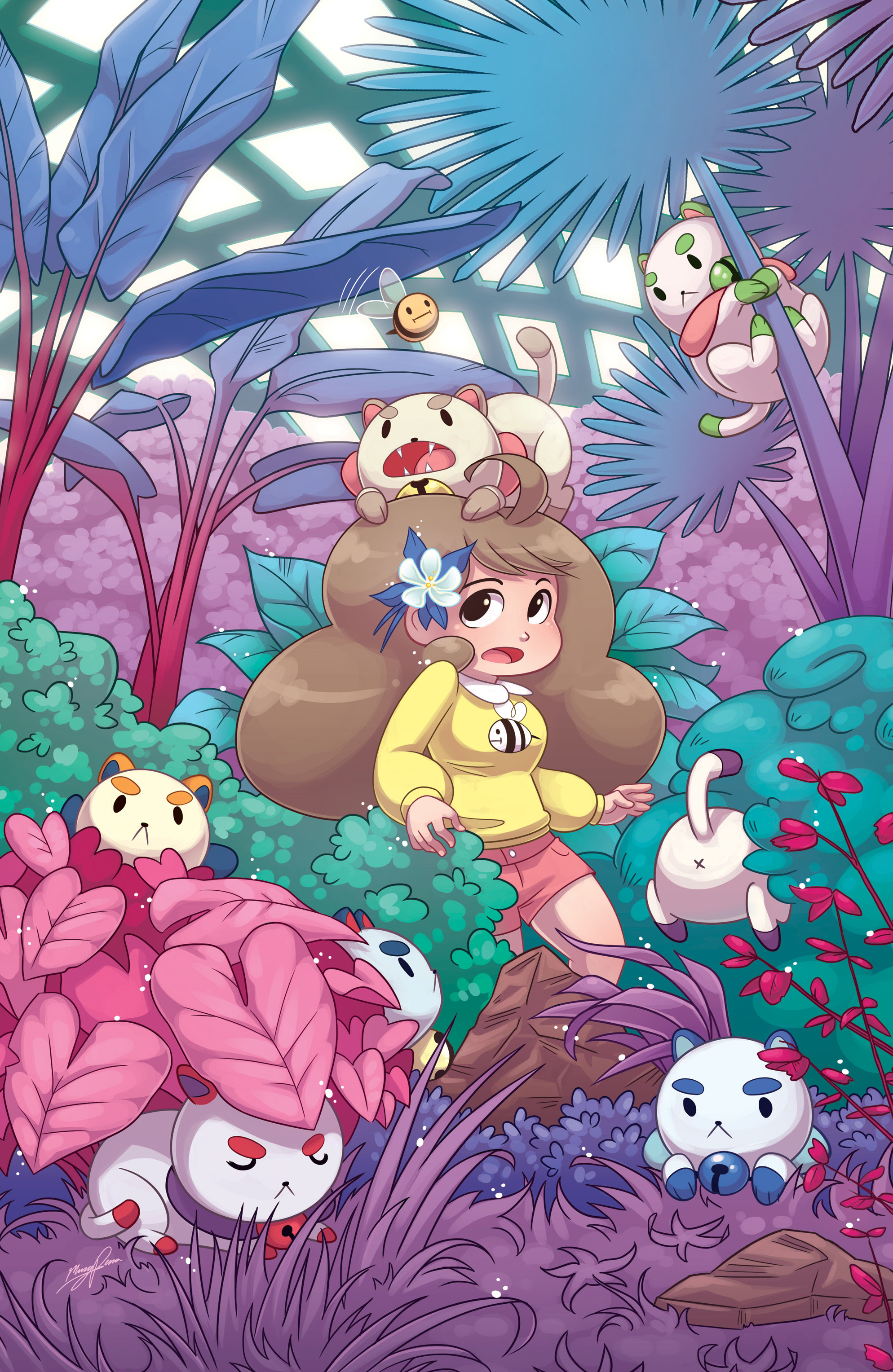 Bee and PuppyCat #1 Denver Comic Con Exclusive