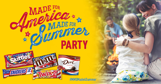 You've got to check out M&M'S®'s Made for America, Made for Summer Party event on Ripple Street!