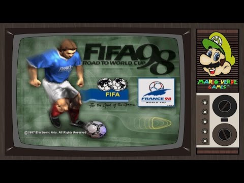 Gameplay - Fifa: Road to World Cup 98