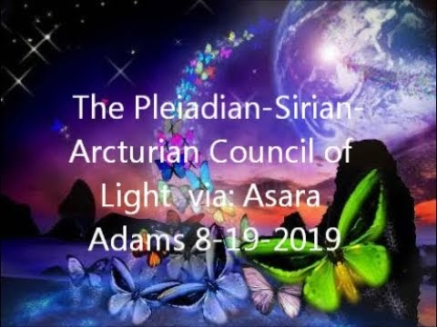 Audio] The Pleiadian-Sirian-Arcturian Council of Light (8/17