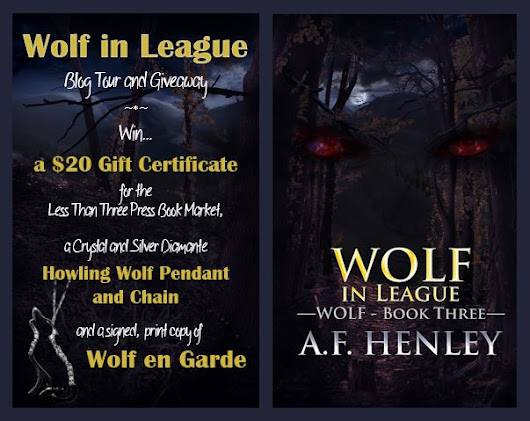 The Wolf in League Blog Tour and Giveaway is coming to a close