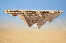 Image:Pyramides inversées montage Gizah.jpg