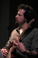 Frank Wingold, gitarist van Agog (foto: Cees van de Ven)