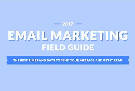 The 2017 Email Marketing Field Guide: The Best Times and Days to Send Your Message and Get It Read | Propeller CRM Blog