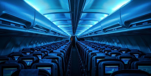 7 artsy plane interiors that make flying a whole lot cooler