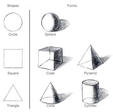 drawing lessons  basic geometric shapes