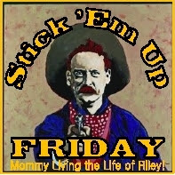 Stick 'Em Up Friday Giveaway Linky at Mommy Living the Life of Riley