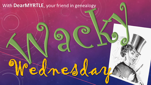 Welcome! You are invited to join a webinar: WACKY Wednesday - Second Life Avatars and Genealogy. After registering, you will receive a confirmation email about joining the event.