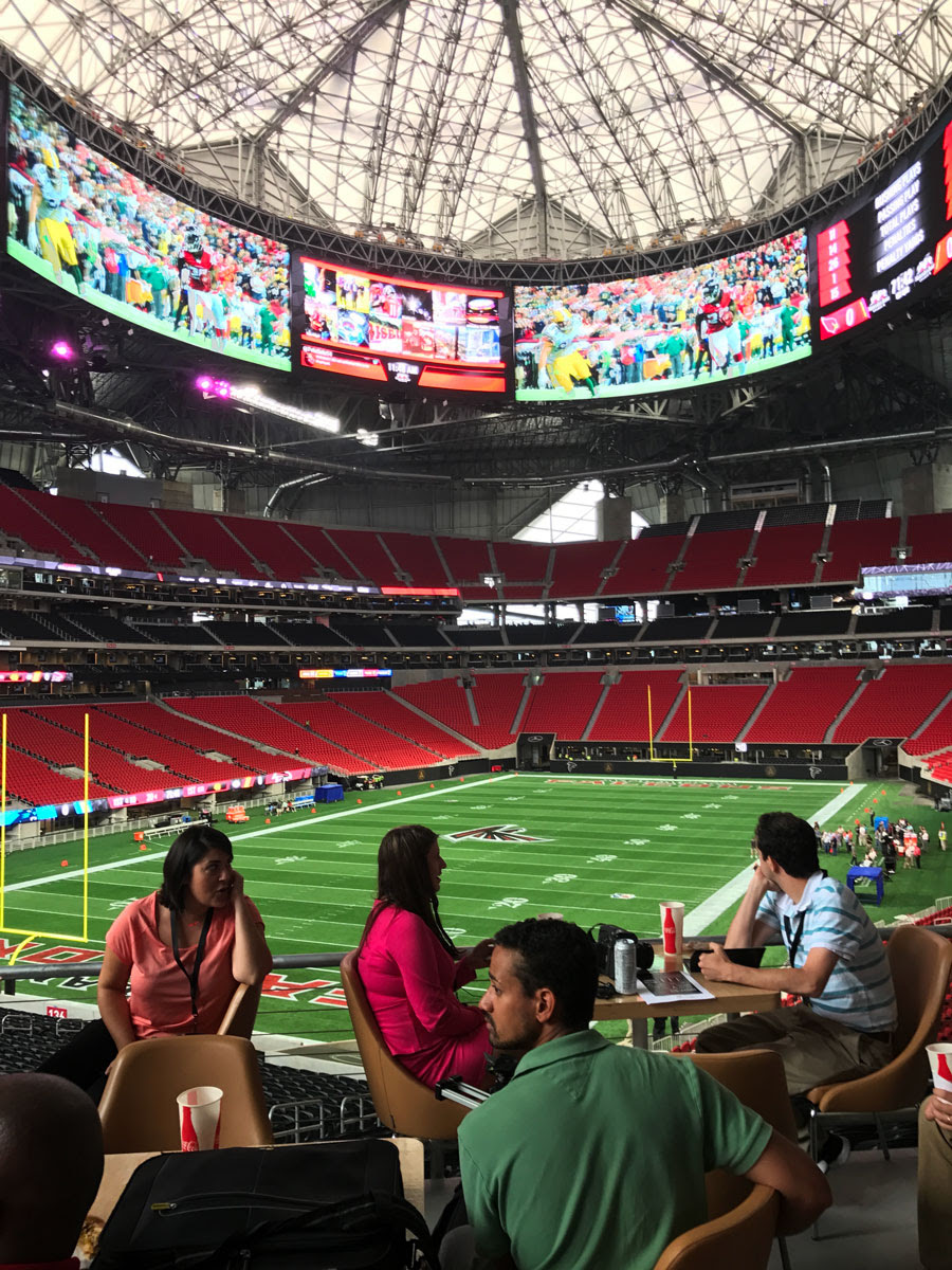 Days away from opening, here's what Mercedes-Benz Stadium ...