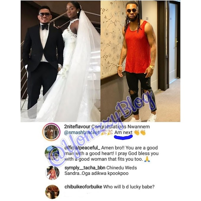 FLAVOUR N'ABALIA REVEALS WHO HE WANTS TO MARRY... Read more