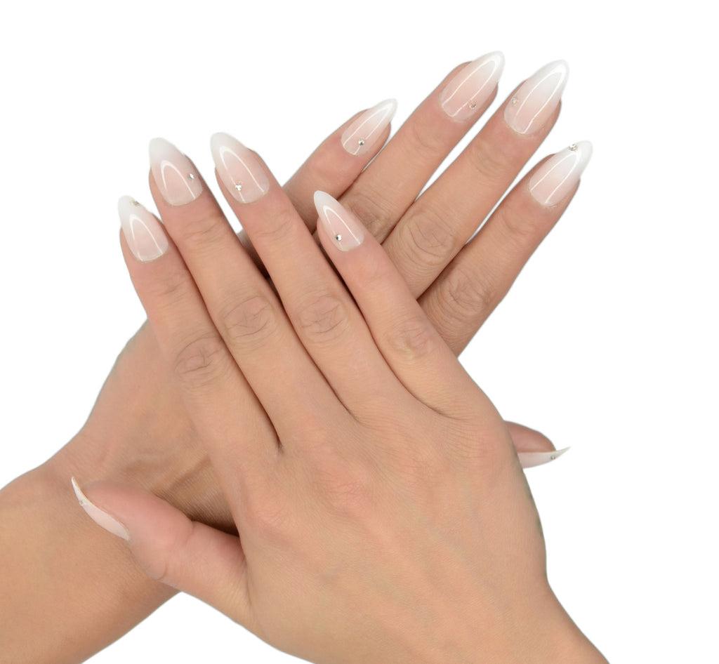 """Flawless"" Stiletto Nails - NAILHUR - Reusable & Renewable ..."