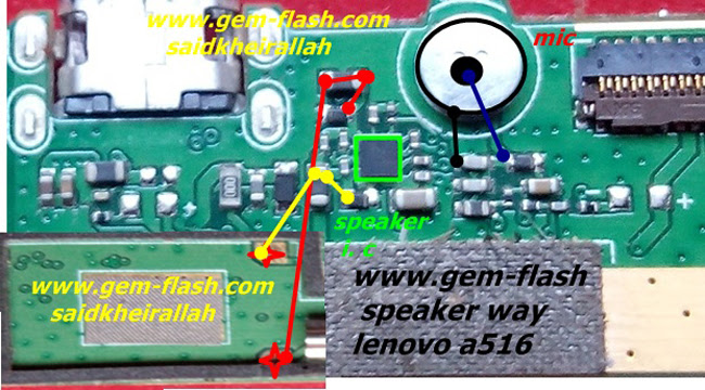Lenovo A516 Mic Problem Jumper Solution Ways Microphone Not Working