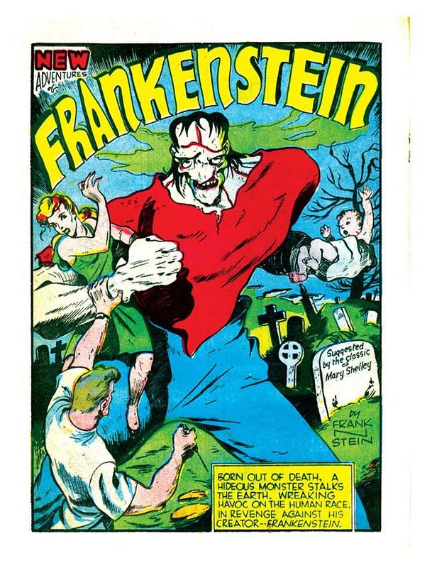 Prize Comics 7 1940 Frankenstein