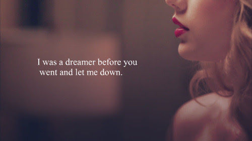 Love Quote Song Taylor Swift Love Quotes Heartbreak Stickthetongue