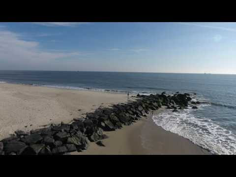 Cape May Bird's Eye Aerial View from Above with Unique Drone Footage
