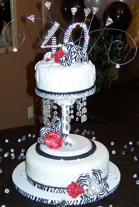 Bling birthday cake designs   Pin 40th Birthday Cake Ideas