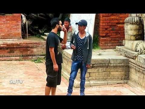 Nepali prankster got punched on face || nepali prank fail||