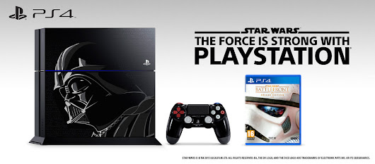 Limited edition Darth Vader-inspired PS4 available this November