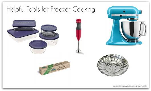 Tools and Printables for Freezer Cooking - Retro Housewife Goes Green
