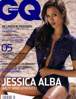 Jessica Alba - GQ Mexico -Febuary 2008 Pictures