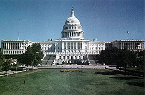 The U.S. Capitol building in Washington.