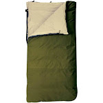 Slumberjack Country Squire 12 Ounce Cotton Duck Insulated Sleeping Bag, Green by VM Express
