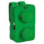 """LEGO 16"""" Brick Kids' Backpack - Green"""