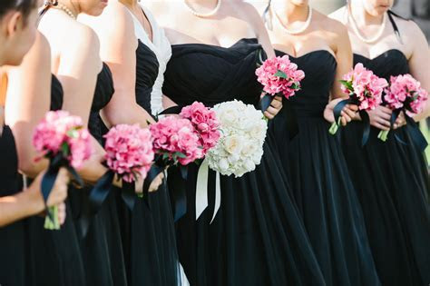 Black, White & Hot Pink Wedding at Chambers Bay   Jen's