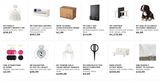 Ikea renames its products after common Google searches in new ad