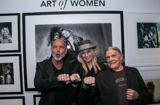 Nancy Wilson of Heart and Julian Lennon Celebrate the Opening of 'The Art of Women' at Morrison Hotel Gallery | Music in SF